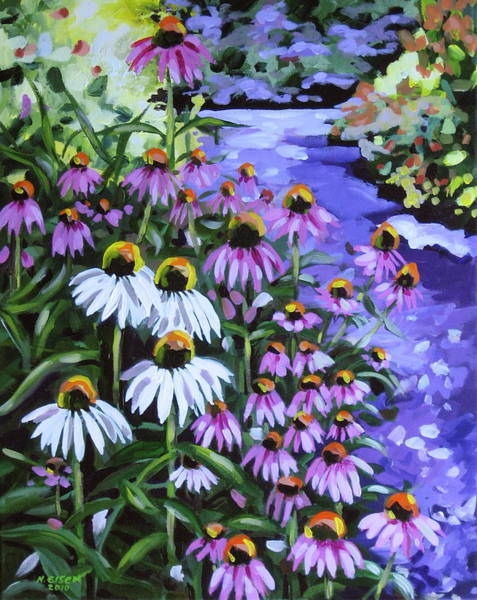 Painting - Stand Out In A Crowd by Outre Art  Natalie Eisen