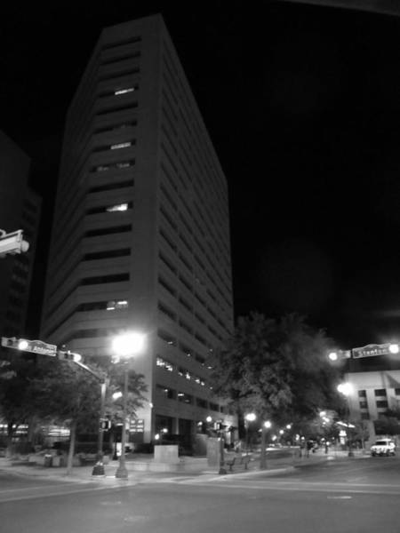 Downtown El Paso Photograph - Stand Tall by Nicholas Haddox