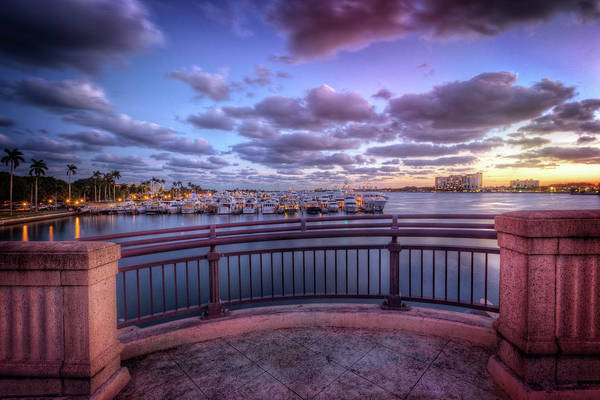 Flagler Beach Photograph - Standing On The Bridge by Debra and Dave Vanderlaan