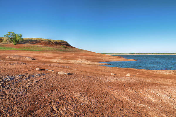 Photograph - Standing On The Lakebed by John M Bailey