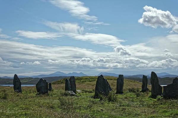 Photograph - Standing Stones, Callanish, Isle Of Lewis 2017 by Chris Honeyman