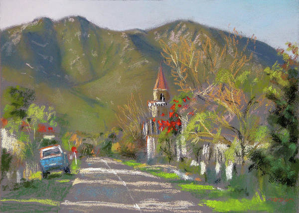 Pastel - Stanford Street by Christopher Reid