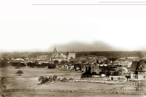 Photograph - Stanford University December 1903 by California Views Archives Mr Pat Hathaway Archives