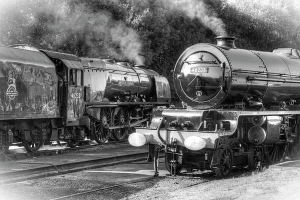 Photograph - Stanier Pacifics At Swanwick by David Birchall