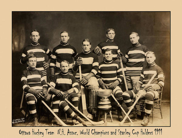Photograph - Stanley Cup 1911 by Andrew Fare