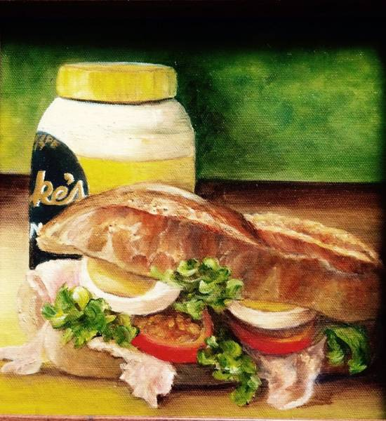 Painting - Stan's Spread. Sold by Susan Dehlinger