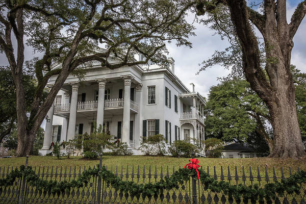 Photograph - Stanton Hall Natchez Ms by Gregory Daley  MPSA