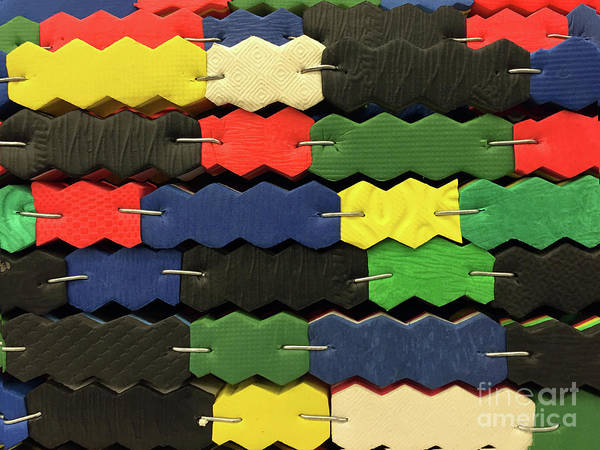 Photograph - Staples And Zig-zags by Rick Locke