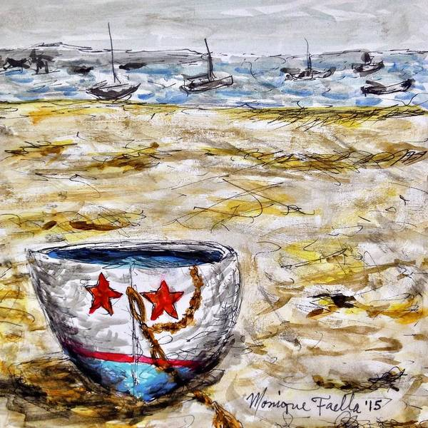 Star Boat Art Print