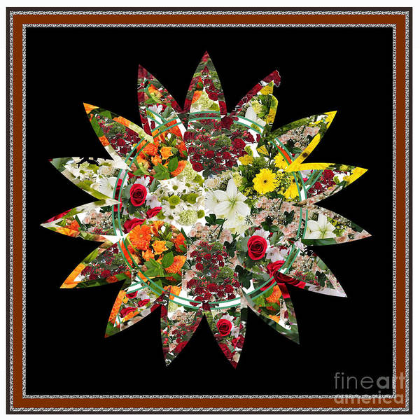 Hardrock Digital Art - Star Flower Bouquet Creation By Navinjoshi At Fineartamerica.om Graphics Art   Elegant Interior Deco by Navin Joshi