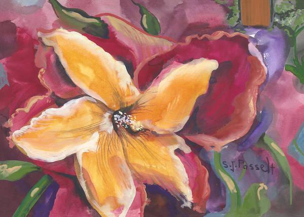 Painting - Star Garden by Sheri Jo Posselt