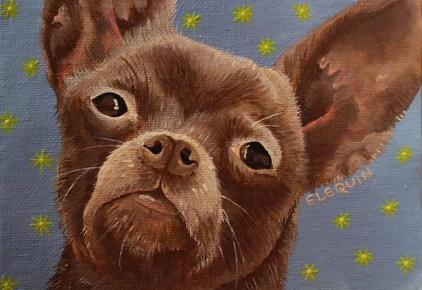 Wall Art - Painting - Star Gaze by Elizabeth Elequin