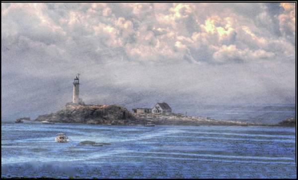 Photograph - Star Island Lighthouse by Phyllis Meinke