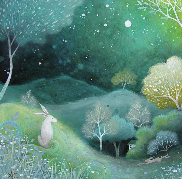 Fineart Painting - Star Light by Amanda Clark