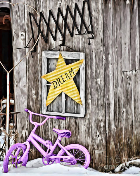 Knot Hole Photograph - Star Light Star Bright by Kathy M Krause