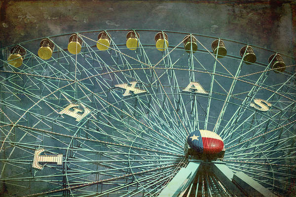 Fairground Photograph - Texas Star #5 by Stephen Stookey