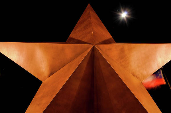 Bullock Texas State History Museum Photograph - Star Of Texas by Karen Cleveland