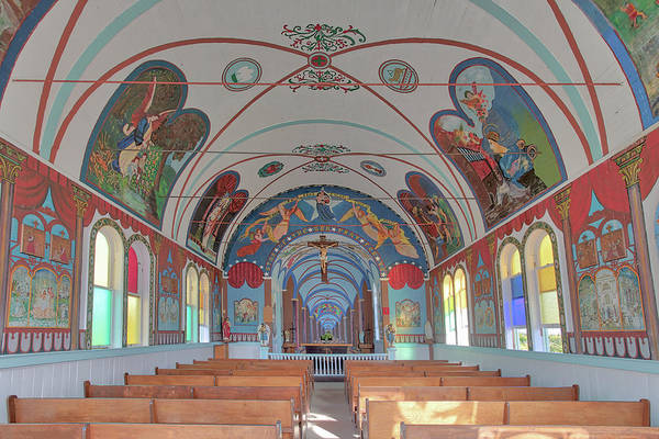 Photograph - Star Of The Sea Church Interior by Susan Rissi Tregoning