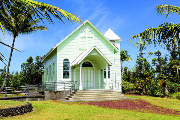 Photograph - Star Of The Sea Painted Church by Jim Thompson