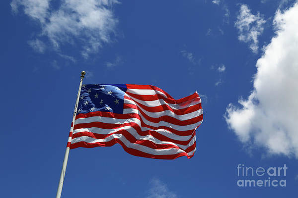 Photograph - Star Spangled Banner Flag by James Brunker