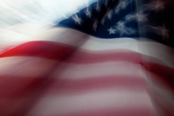 Flying The Flag Wall Art - Photograph - Star Spangled Banner by Janel Seymour