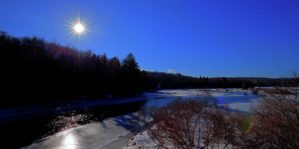 Photograph - Star Sun Over The Moose River by David Patterson