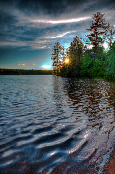 Photograph - Star Sunset On Nicks Lake by David Patterson