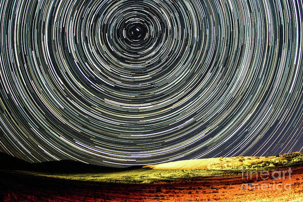 Star Trail Art Print