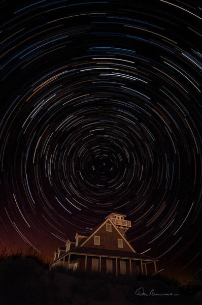 Photograph - Star Trails 1634 by Dan Beauvais