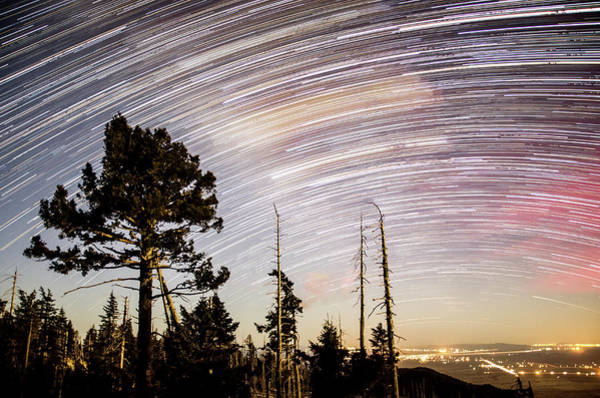 Photograph - Star Trails At Fort Grant by Ryan Ketterer