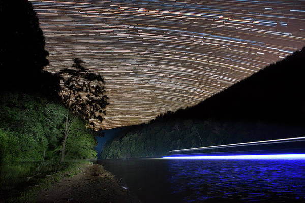 Photograph - Star Trails by Dan Friend