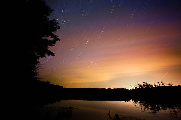 Photograph - Star Trails by Robert Och