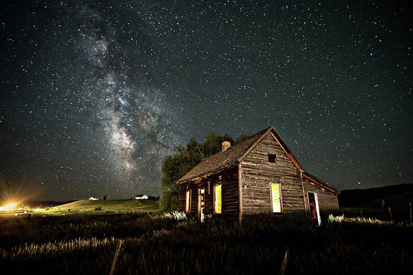 Photograph - Star Valley Cabin by Wesley Aston