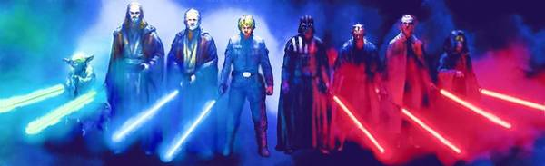 R2-d2 Digital Art - Star Wars At Poster by Larry Jones