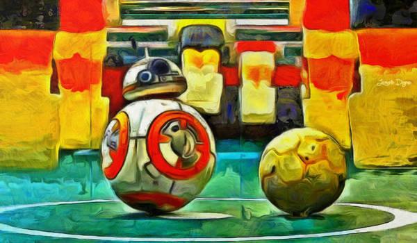 Steven Spielberg Painting - Star Wars Brothers - Pa by Leonardo Digenio