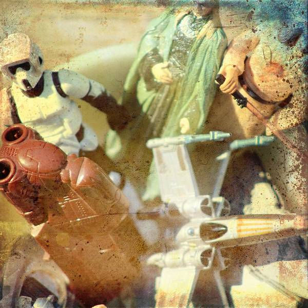 Galactic Empire Photograph - Star Wars Day 1 by Modern Art