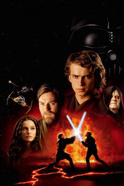 Wall Art - Digital Art - Star Wars Episode IIi - Revenge Of The Sith 2005 by Geek N Rock