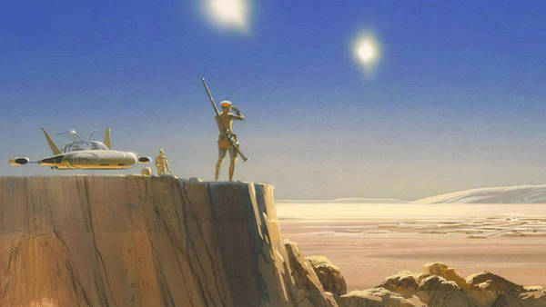 Episode Iv Wall Art - Digital Art - Star Wars Episode Iv A New Hope by Lonna Egleston