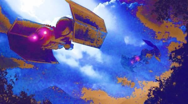 Star Wars Episode 3 Wall Art - Digital Art - Star Wars Movie Poster by Larry Jones