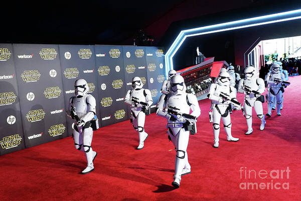 Galactic Empire Photograph - Star Wars Stormtroopers by Nina Prommer