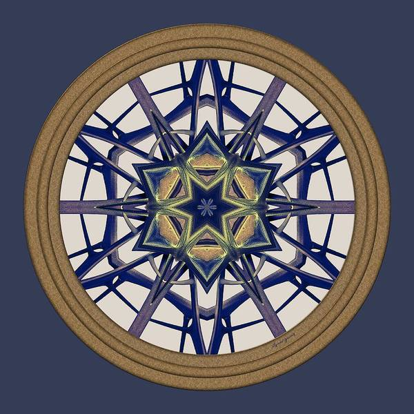 Digital Art - Star Window I by Lynde Young