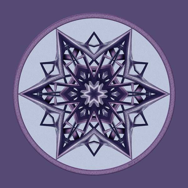 Digital Art - Star Window II by Lynde Young
