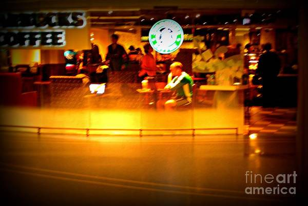 Photograph - Starbucks Coffee Vibe by Frank J Casella