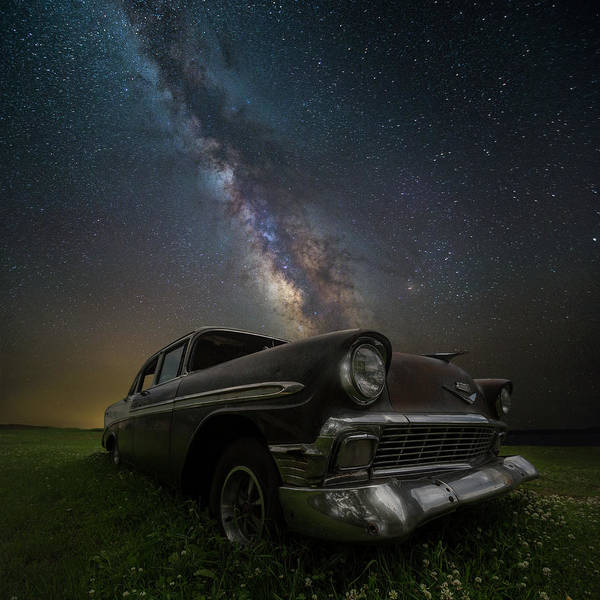 Photograph - Stardust And Rust Chevy by Aaron J Groen