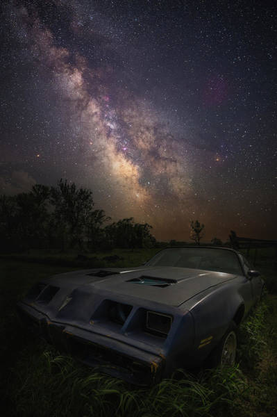 Wall Art - Photograph - Stardust And Rust - Firebird by Aaron J Groen