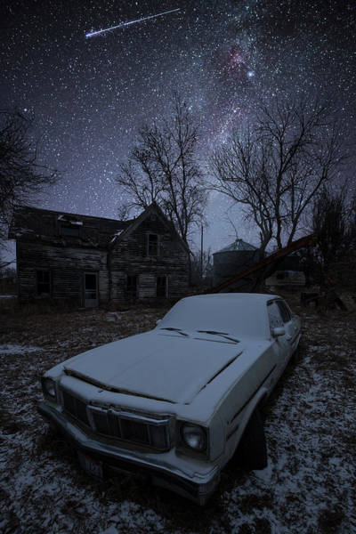 Photograph - Stardust And Rust Omega by Aaron J Groen