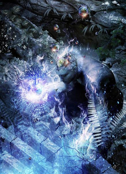 Meditation Digital Art - Stardust by Cameron Gray