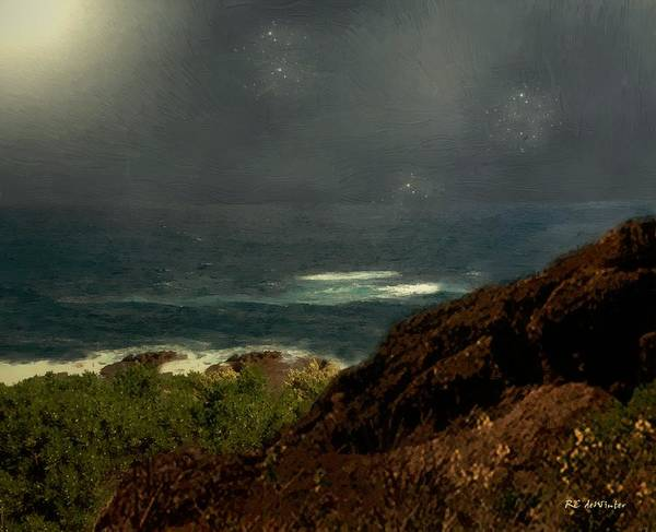 Painting - Stardust Sea by RC DeWinter