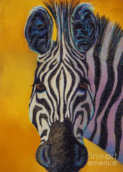 Wall Art - Pastel - Stare Down by Tracy L Teeter