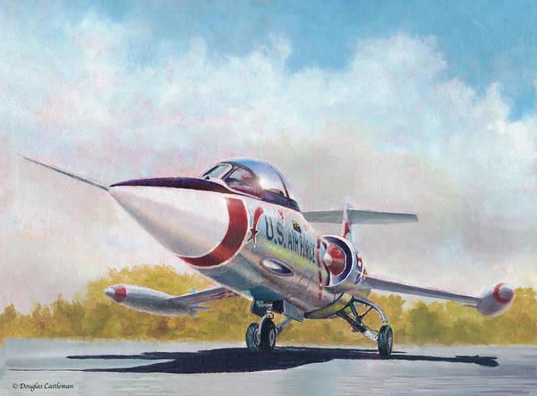 Painting - Starfighter by Douglas Castleman